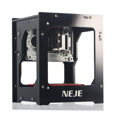nokcooler NEJE DK-8-KZ 1000mW High Speed Mini USB Laser Engraver Carver Automatic DIY Print Engraving Carving Machine Off-line Operation with Protective Glasses--3 Months Warranty
