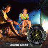 Diggro DI10 Smart Watch Outdoor Sport IP68 Waterproof 5ATM Luminous Dial Pedometer Message Reminder 12 Months Long Standby Time With Clock Pointerfor Android IOS - ARMY GREEN