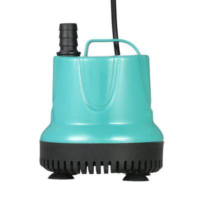 2000L/H 25W Submersible Water Pump Mini Fountain for Aquarium Fish Tank Pond Water Gardens Hydroponic Systems with 2 Nozzles AC220-240V