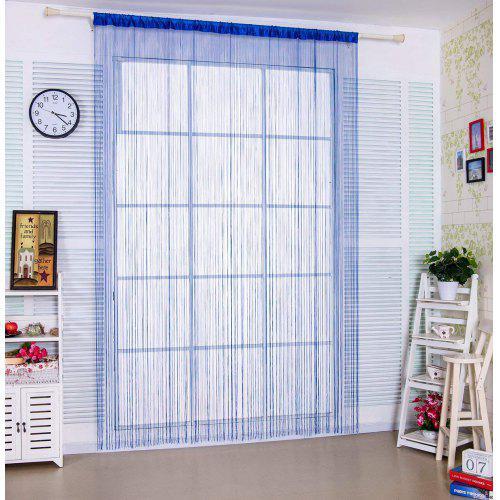 String Curtain Warp Knitting Thread Door Sheer Curtain as Screen Door Flat String Fringe Window Panel for Doorway Room Divider or Laundry Living Decor in Party Event  100*200cm