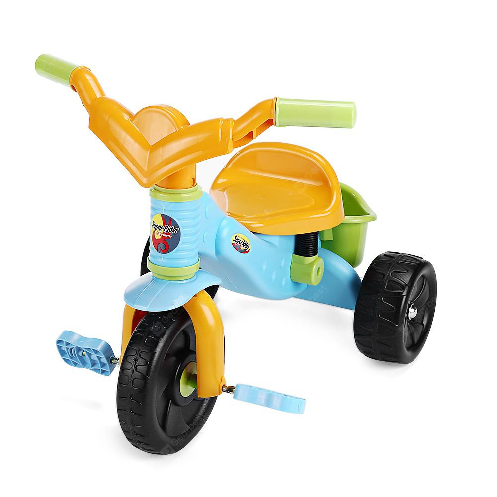 Solid Children Balanced Tricycle - GREEN