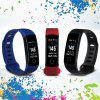 Diggro R8C Smart Bracelet Color Screen Bluetooth4.0 IP67 Heart Rate Blood Pressure Monitor Fitness Wristband Pedometer Watch Android IOS - BLUE