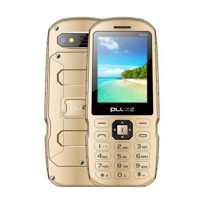 PLUZZ p518 1500mAh battery 2.4inch IPS 240*320 0.3M camera Flip function phone.