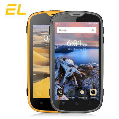 E&L  W5 Android 5.1 4.0 inch 4G Smartphone MTK6735 Quad Core 1.0GHz  1GB RAM 8GB ROM IP68 Waterproof Dustproof Shockproof Bluetooth 4.0 Image