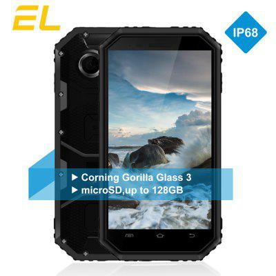 EL W6S 3G Smartphone 4.5 inch Android 7.0 SC7731 Quad Core 1.2GHz 1GB RAM 8GB ROM Dual Cameras