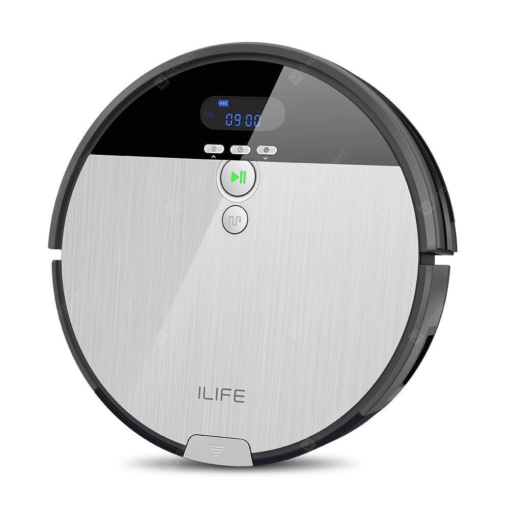 Ilife V8S  Robotic Vacuum Cleaner with LCD Display | Gearbest