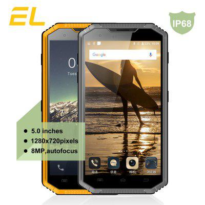 E&L W7 4G Smartphone 5.0 inch Android 6.0 MTK6735 Quad Core 1.5GHz 1GB RAM 16GB ROM 8.0MP Rear Camera IP68