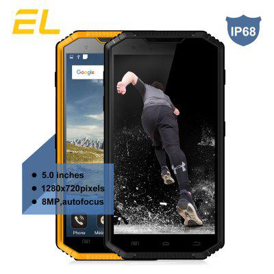 E&L W7S 4G Smartphone 5.0 inch Android 7.0 MTK6737 Quad Core 1.3GHz 2GB RAM 16GB ROM Dual Cameras Hotspot Image