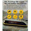 E&L W8 4G Phablet 5.5 inch Android 6.0 MTK6753 1.5GHz Octa Core 2GB RAM 16GB ROM IP68 Waterproof 8.0MP Rear Camera - YELLOW