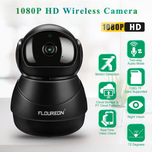 Search For Flights Robot Fhd 1080p Baby Monitor Cctv Network Wifi Camera Voice Intercom Night Vision Nanny Webcam Video Camcorder For Home Video Surveillance