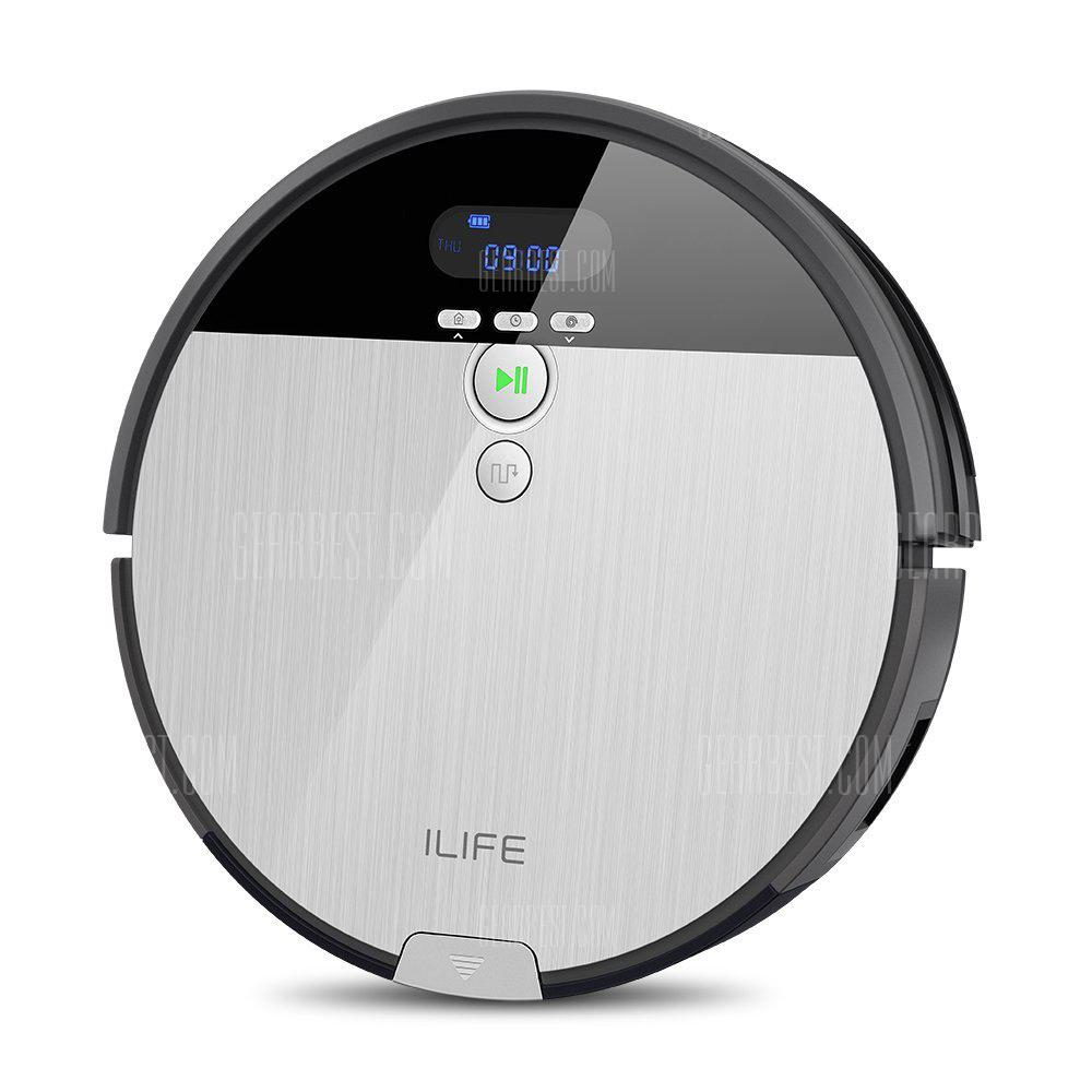 Ilife V8S Robotic Vacuum Cleaner with LCD Display