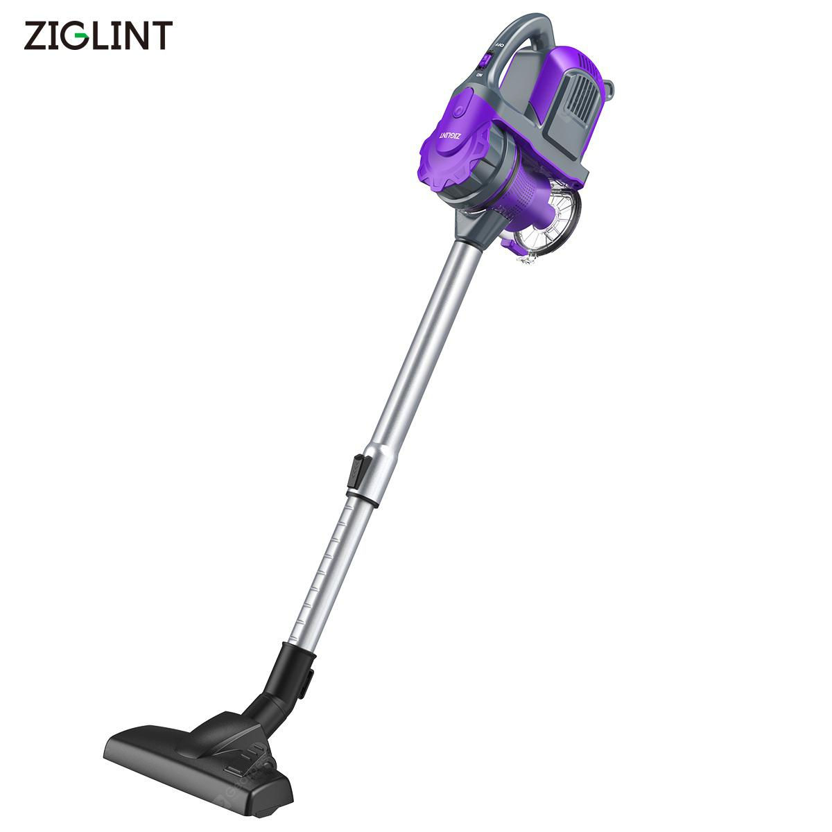 Ziglint Z3 Portable Cordless Handheld Vacuum Cleaner 120W - PURPLE EU