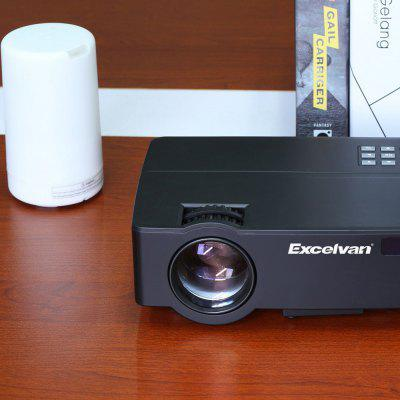 Excelvan E09 (E08S) 1080P 4K Home Theater Projector