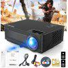 Excelvan M5 3500 Lumens Full HD Projector - BLACK