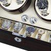 Floureon WWR02 - EU Automatic Watch Winder - BLACK