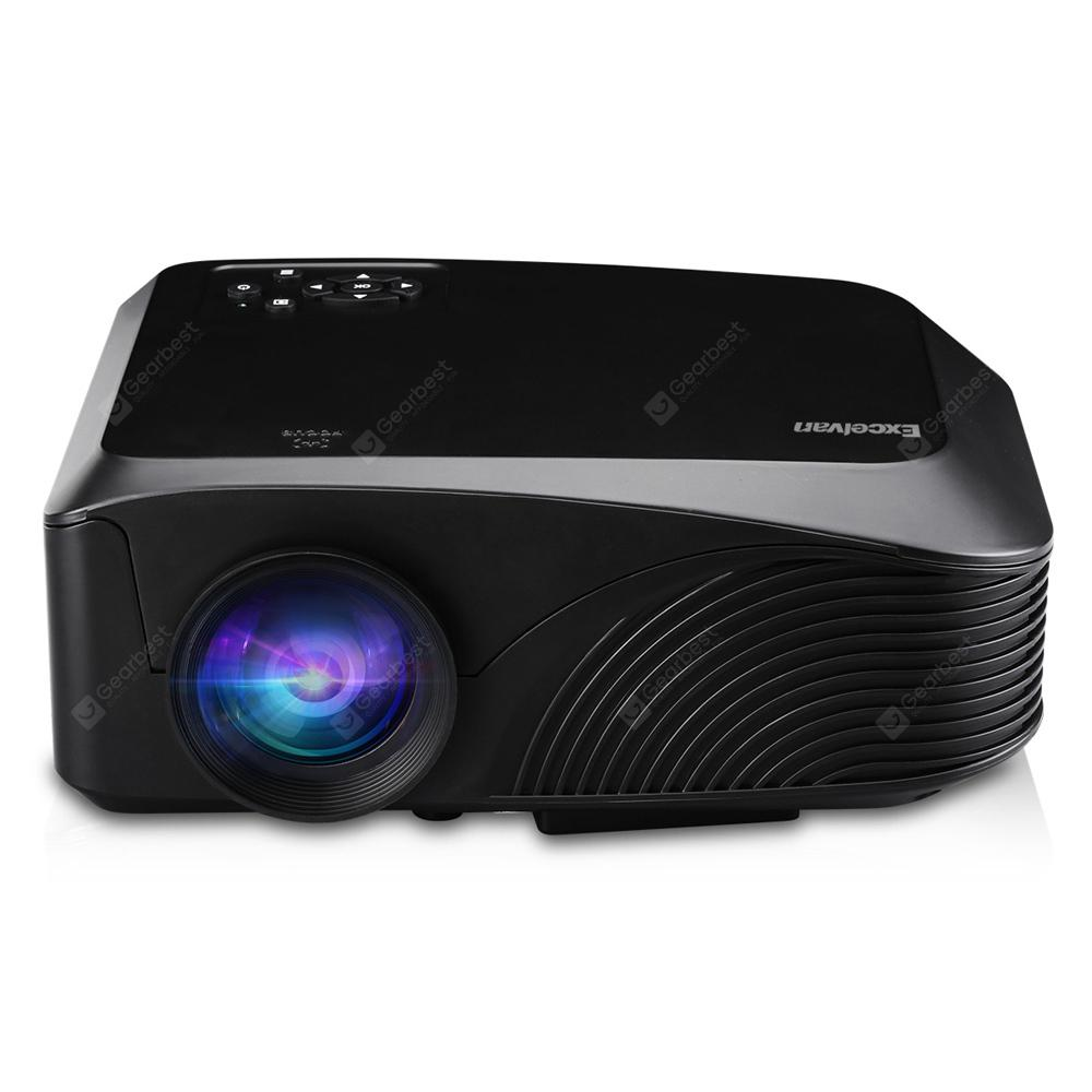 Excelvan LED - 4018 Portable 1200 Lumens Projector - Black EU