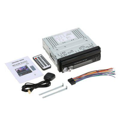 Universal 7inch Car Stereo Radio Player GPS Navigation Retractable MP5 Player with BT FM USB SD