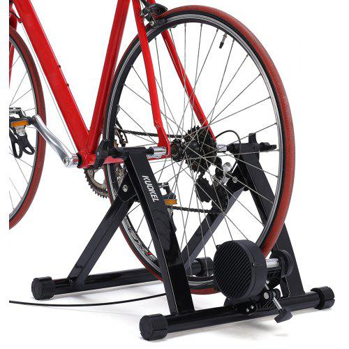 KUOKEL TQJS-02 Bike Trainer Stand Bicycle Exercise Magnetic Wheel and Noise Reduction Heavy Duty Steel Body Max Weight 100KG - $103.18 Free ...