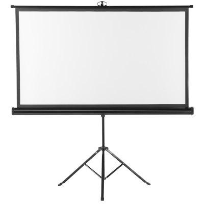 Excelvan 100 inch Portable Pull Up Projector Screen