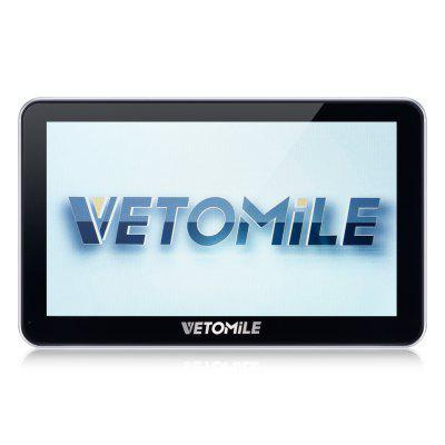VETOMILE 704 7 inch Truck Car GPS Navigation Navigator with Free Maps Win CE 6.0 / Touch Screen / E-book / Video / Audio / Game Player