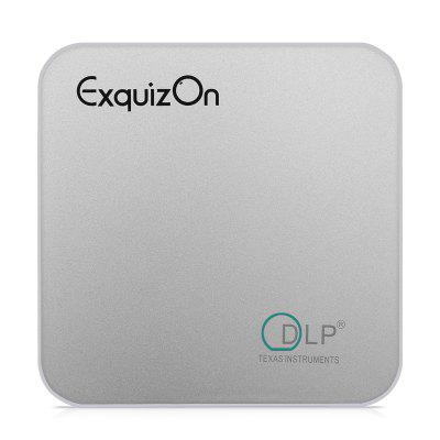 Exquizon E05 Airplay Miracast Projector for Outdoor Movie DLP Home