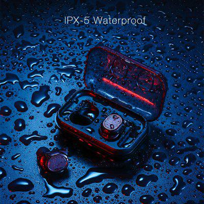 Touch Control DSP TWS Bluetooth 5.0 Earphone IPX5 Waterproof HIFI Super Bass Sound Wireless Quick Connect Smart Earbuds