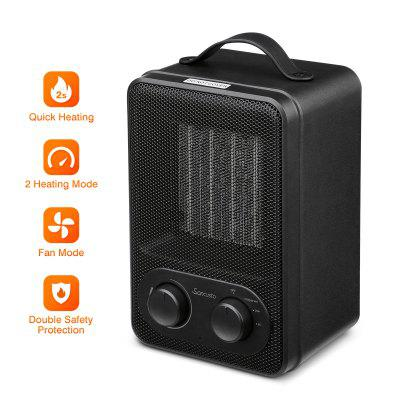Sancusto 1800W Space Heater with Adjustable Thermostat