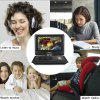 Excelvan Portable DVD Player With 10.5' TFT LED Screen Built-in 5000mAh Rechargeable Li-battery Support DVD/ USB/ SD Input Car Package - BLACK