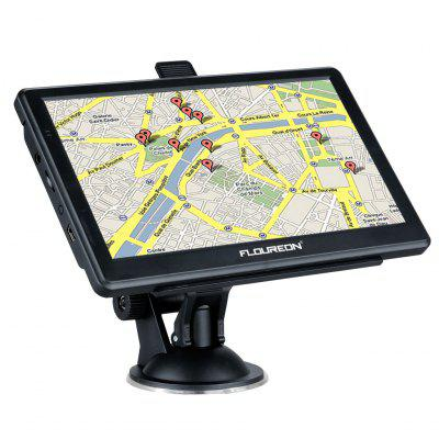 FLOUREON 7-inch Touch Screen Car GPS Navigation System MP3 SAT NAV Navigator