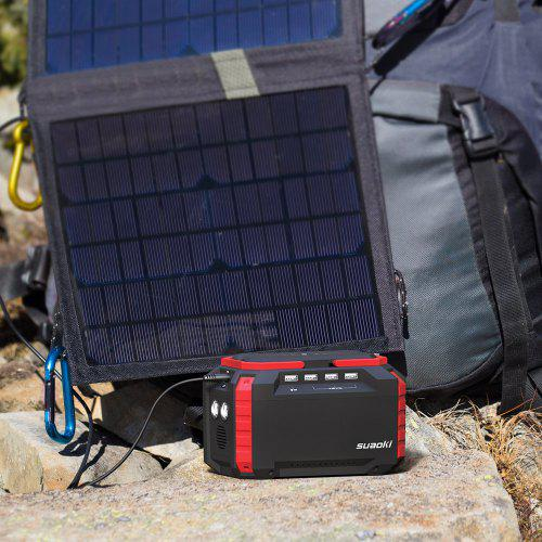 Suaoki S270 Portable Charging Station Mini Solar Generator 150WH