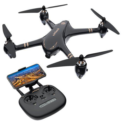 Gearbest Virhuck V-6 RC Drone with 1080P camera - BLACK