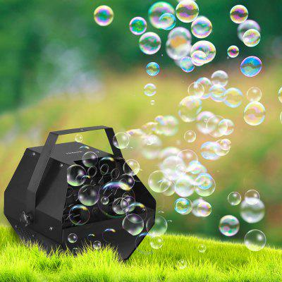 Virhuck Professional Automatic Bubble Machine with High Output Automatic Blowing Mechanism For Kids'Parties Weddings Special Occasions Pets