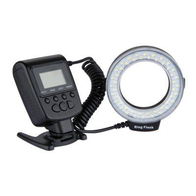 Lightdow 48 pcs LEDs Macro Ring Flash Light Speedlight for Nikon Canon Cameras
