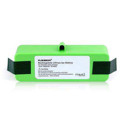 Floureon 14.8V 5300mAh Li-ion  i robot Battery Compatible With iRobot Roomba 500 600 700 800 Series
