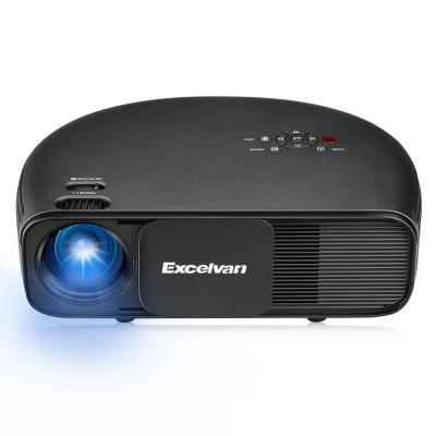 Excelvan CL760 Semicircle 3200 Lumens LED Video Projector