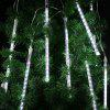 Finether HF - DL - XY - LX01 - LX - W Meteor Shower Shape String Light for Holiday Christmas Halloween Party Indoor Outdoor Decoration Commercial Use - COOL WHITE