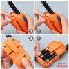 Caroger CR388A Colorful License-Free 22 Channel Walkie-talkie - PAPAYA ORANGE