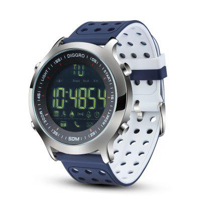 Diggro DI04 Smart Watch IP68 Waterproof 5ATM Pedometer Message Reminder Long Standby Time Outdoor Sports for iOS Android