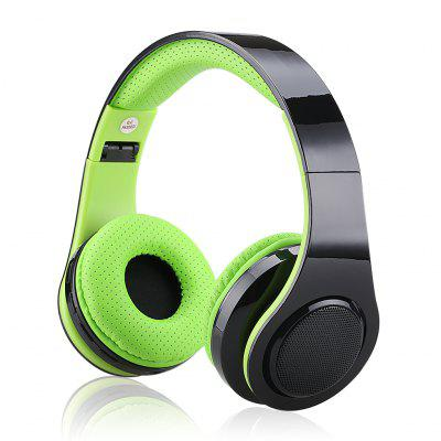 EXCELVAN Folding Wireless Bluetooth LED Stereo Headphones Classic Adjustable Headset