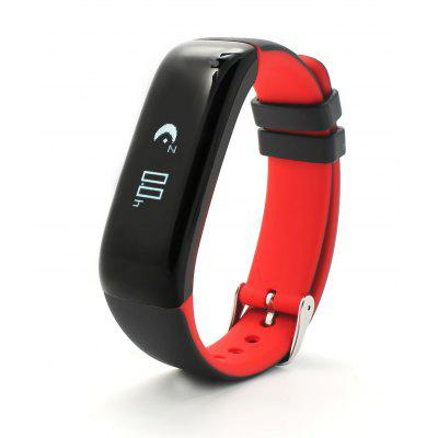 Diggro P1 Smart Sports Bluetooth Bracelet Blood Pressure Heart Rate Monitor Call Message Reminder Image