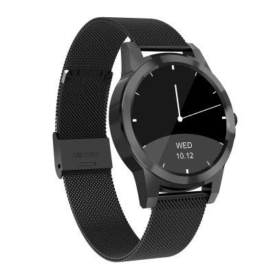 Diggro DI03 Plus Bluetooth Siri Smart Watch MTK2502C 128MB+64MB 1.15cm Ultra-thin IP67 Heart Rate Monitor Pedometer Sedentary Remind Sleep Monitor Notifications Pushing for Android & IOS Image
