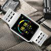 Diggro N88 Smart Watch Bluetooth IP68 Waterproof Heart Rate Monitor - WHITE