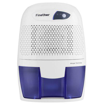 Finether 500ml Mini Air Dehumidifier Portable Dryer Home Bathroom Kitchen Garage Damp UK