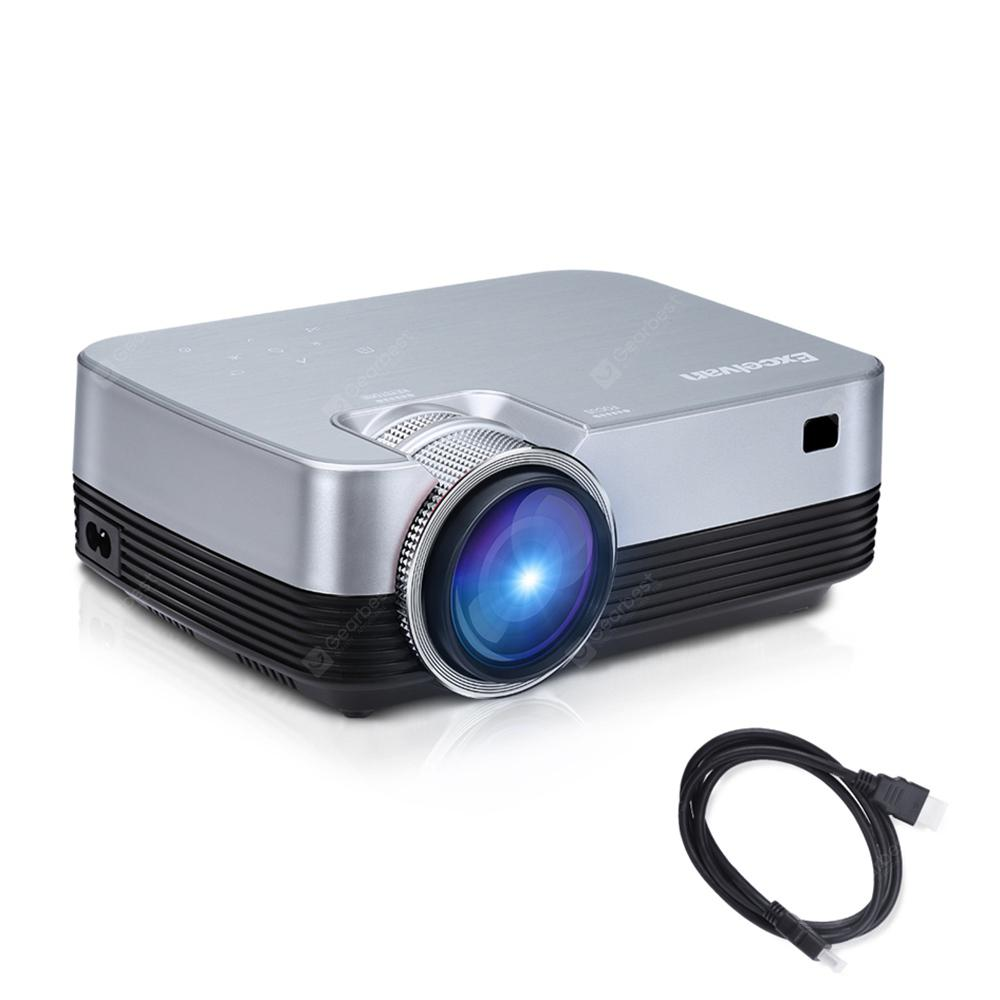 Excelvan Q6 Upgraded 1800 Lumens Projector