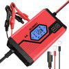 Suaoki Motorcycle and Car Battery Charger ICS4+ EU - RED