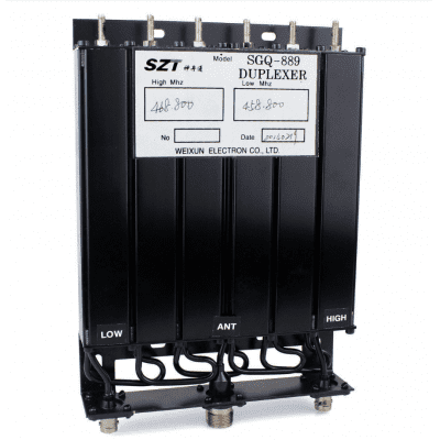 New 25W Repeater UHF380-470MHz 6Cavity Duplexer for Radios SL16/UHF-M Connector