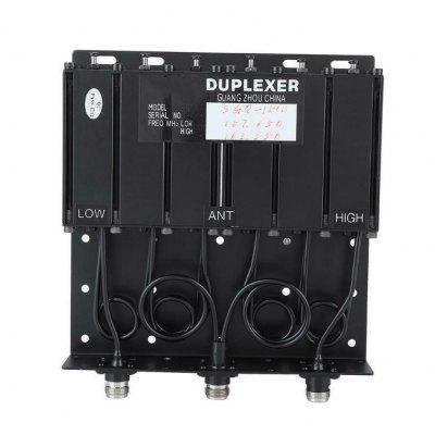 UHF 6 CAVITY DUPLEXER for radio repeater N connector UHF Duplexer