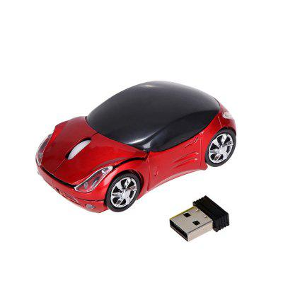 1000DPI  2.4G Car Shape Wireless Optical Mouse USB Scroll Mice for Tablet Laptop PC