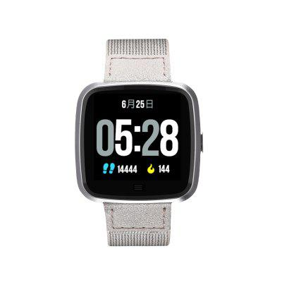 G12 Smart Watch Nylon Band Calorie Pedometer Heart Rate Monitor Multi Sport IP67 Life Waterproof Sport Watch Men Women for IOS Android