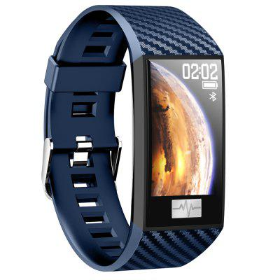 DT58 Thin Smart Bracelet Band Heart Rate Color Screen Wristband Watches Waterproof Activity Fitness Tracker for Women